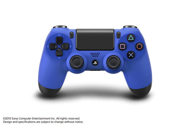 PS4 Conterolers_blue_bazihelp.ir