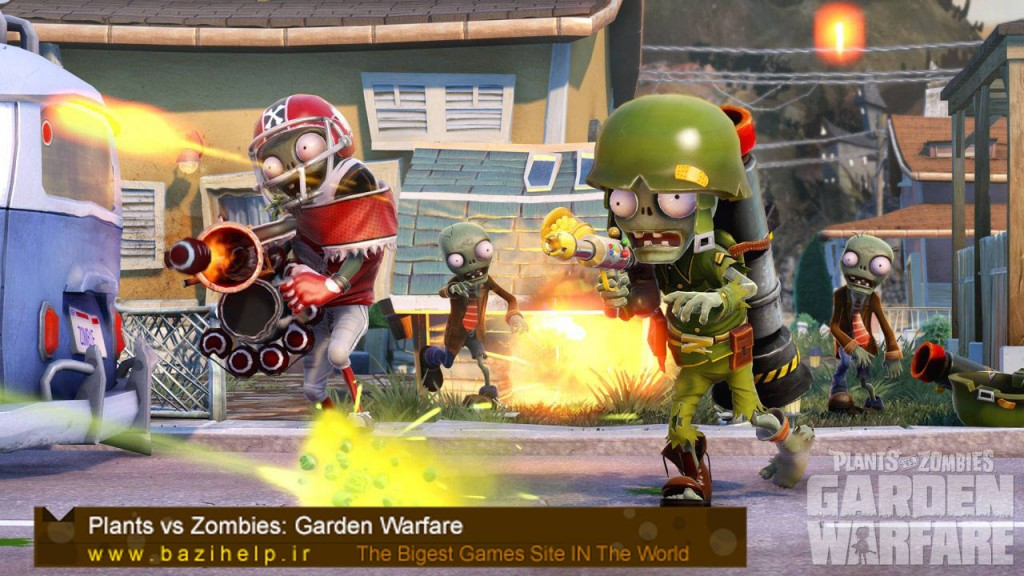 Plants vs Zombies Garden Warfare Pictures_bazihelp